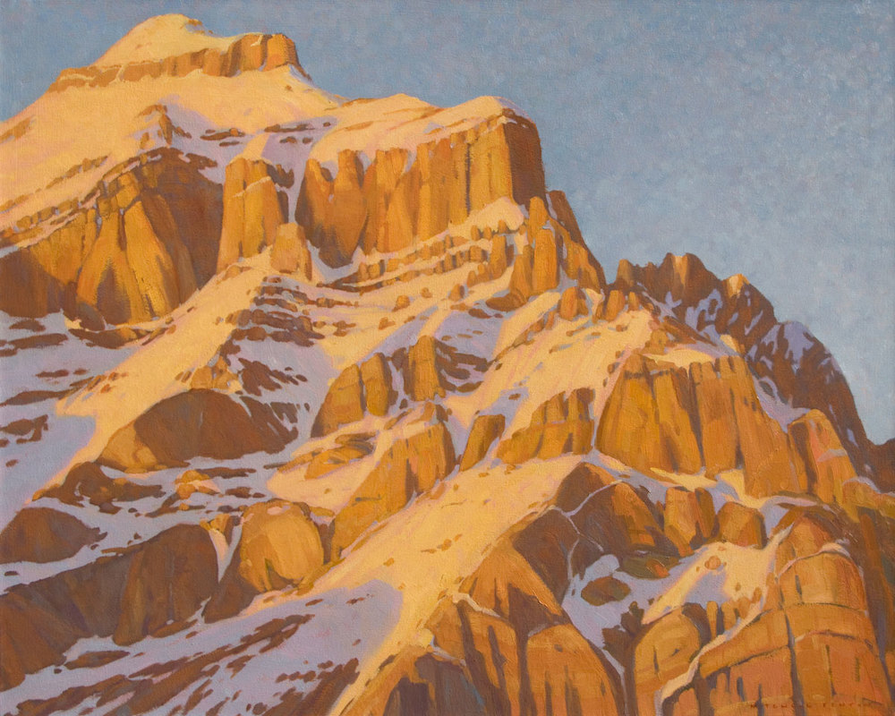 Cascade Mountain - 40x50 inch