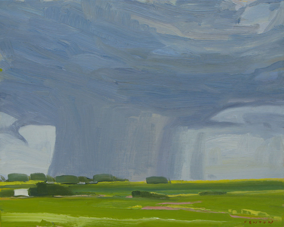 Rain Clouds Limerick Saskatchewan