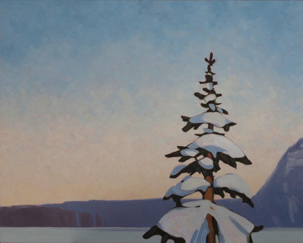 Lake Louise - 32x40 inch