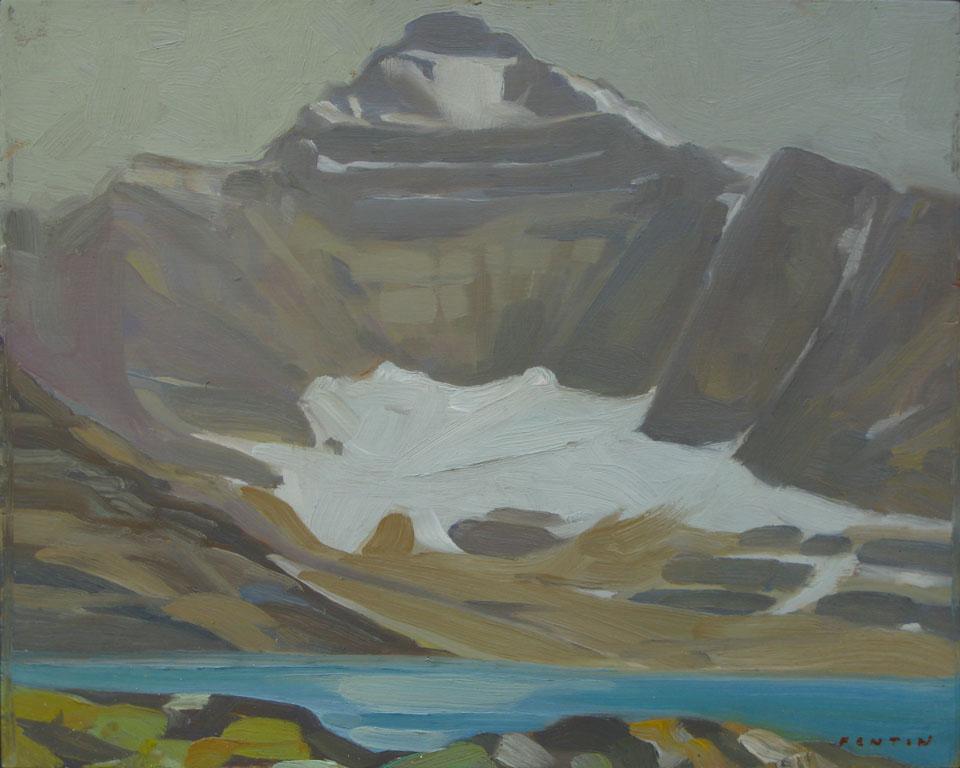 Lake McArthur and  Mount Biddle