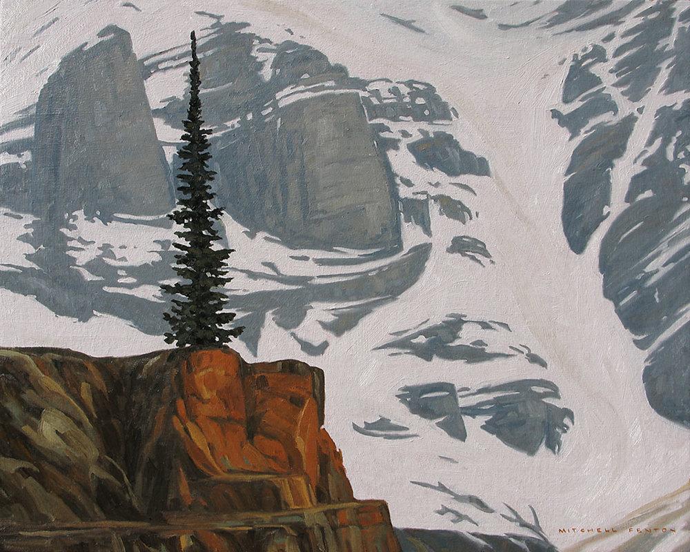 Mount Ringrose - 24x30 inch