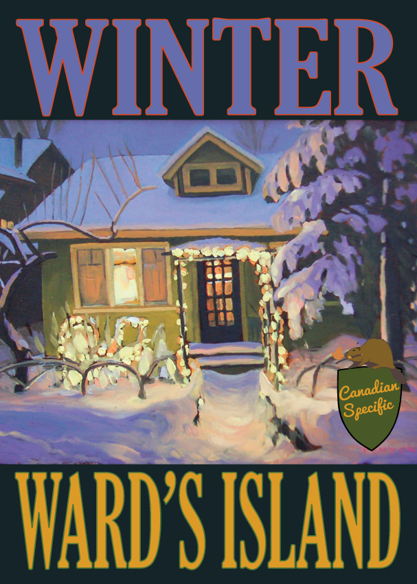 #063 Winter Wards Island