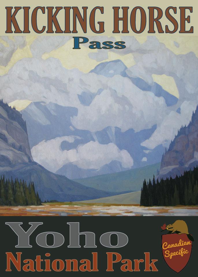 #051 - Kicking Horse Pass