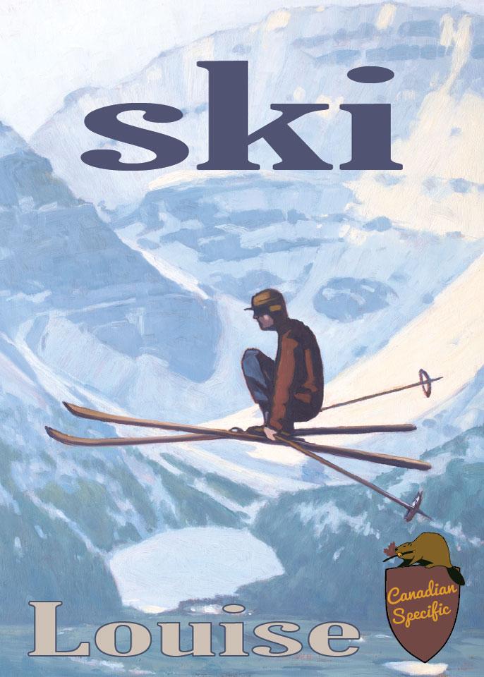 PC-061 Ski Louise