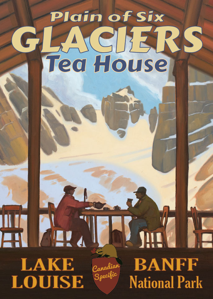 #023 - Plain of Six Glaciers Tea House