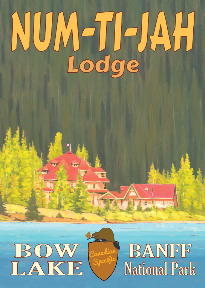 #055 - Num-Ti-Jah Lodge