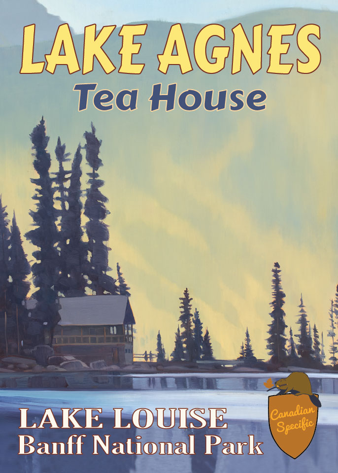 #067 - Lake Agnes Tea House