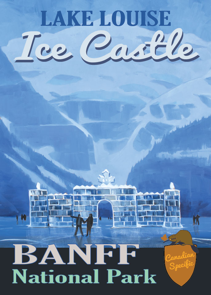 #063 - Lake Louise Ice Castle