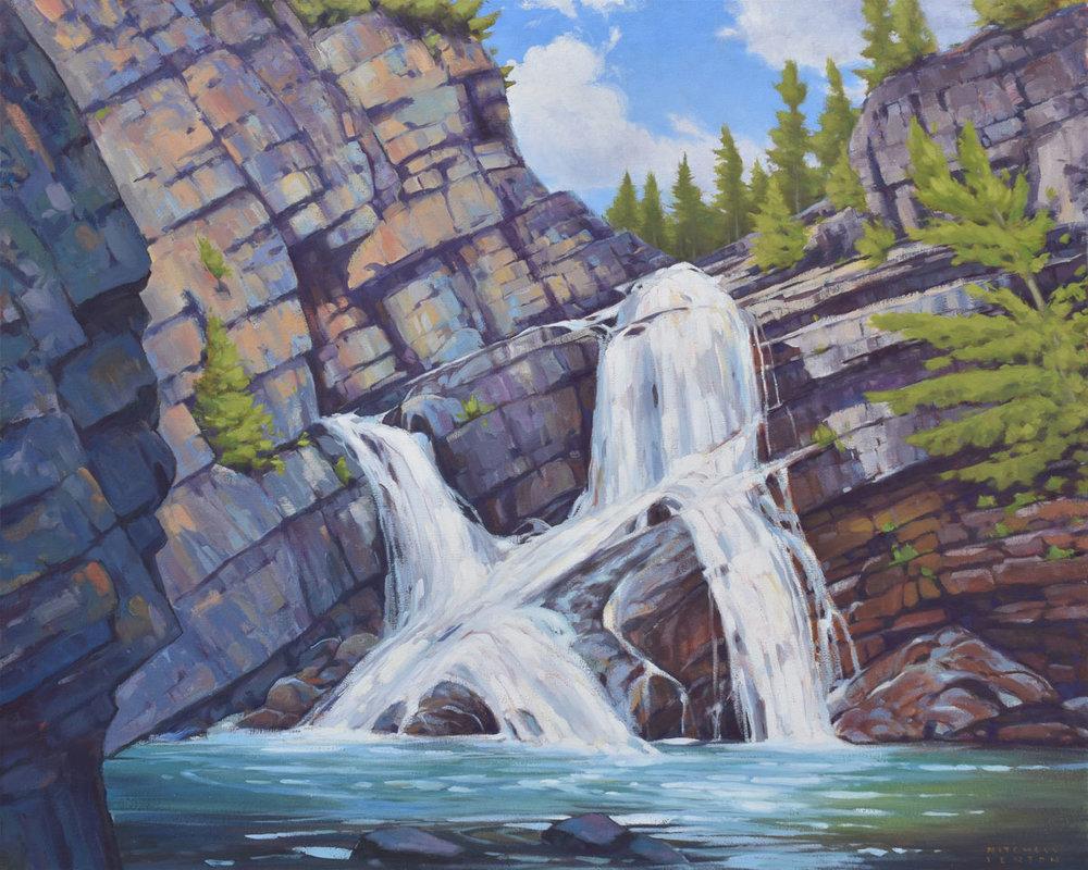 Cameron Falls - Waterton Lakes National Park