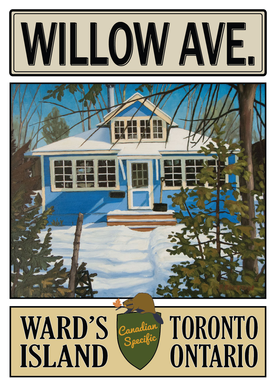 3 Willow Ave, Toronto Island