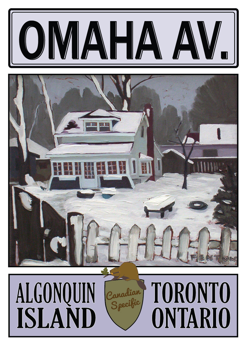 24 Omaha Ave, Toronto Island