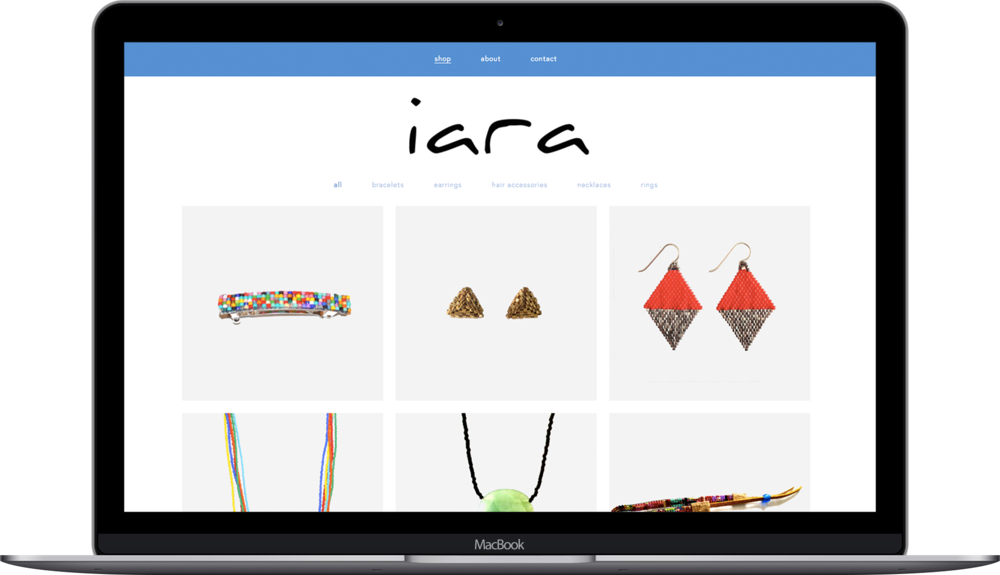 Laptop Mockup for IARA