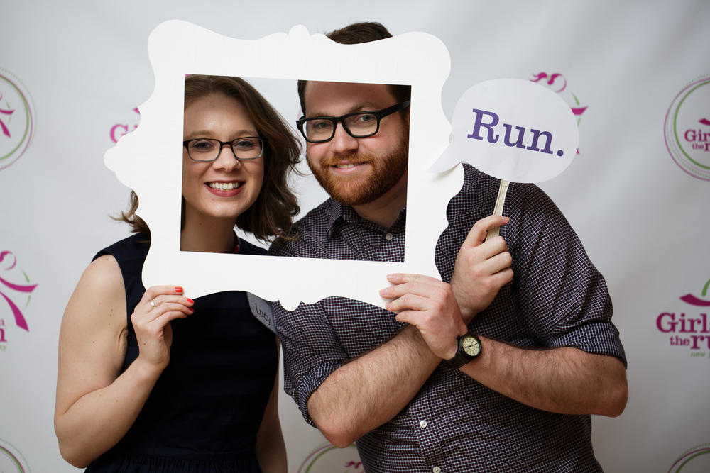 Photo Booth at Girls on the Run NYC's Fundraiser