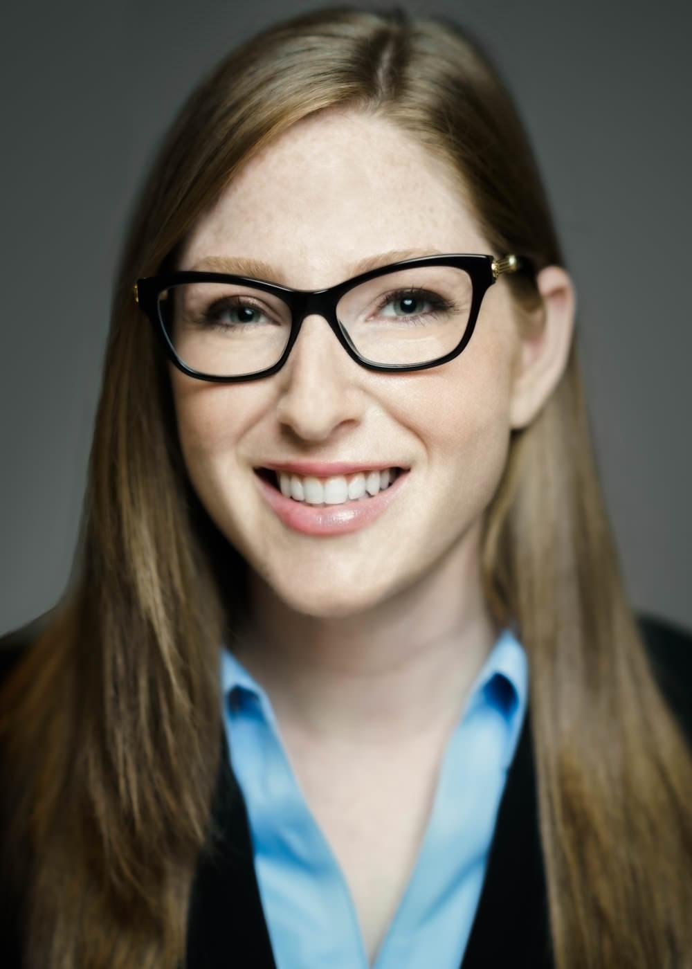 Lauren Kurlander. Headshot by Daniel Lee.