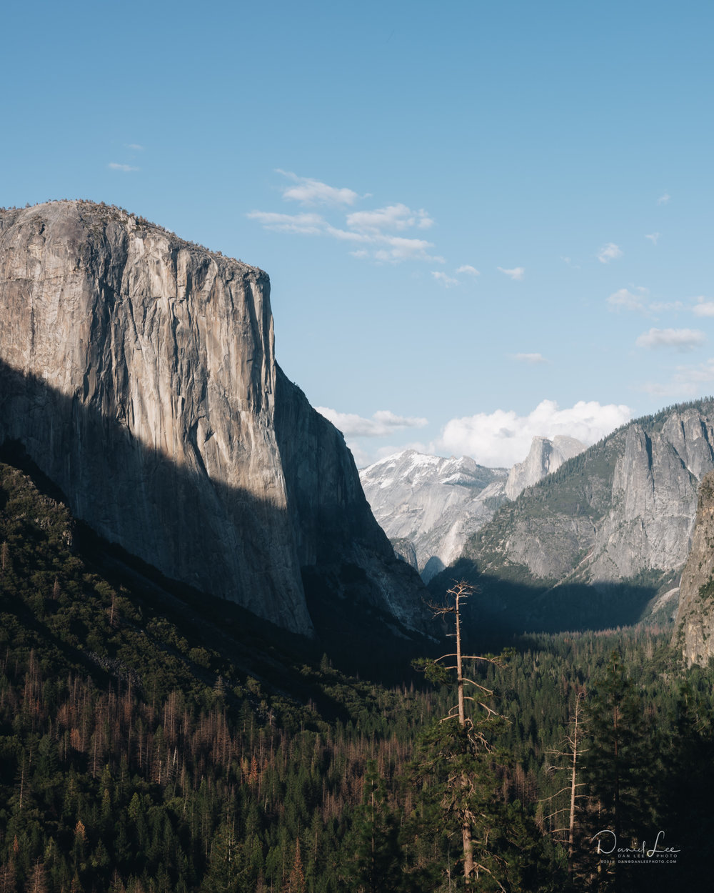 El Capitan in Yosemite National Park. For Pursuits with Enterprise. Photo by Daniel Lee.