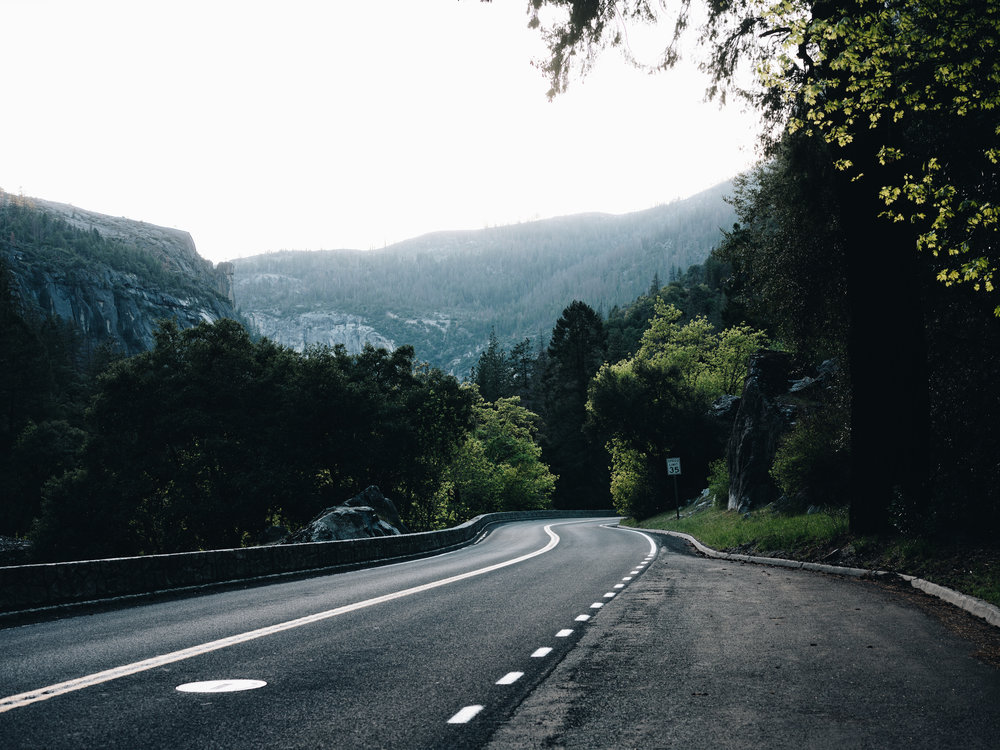 Mountain roads feel like they're made for drivers. For Enterprise on social media. Photo by Daniel Lee.