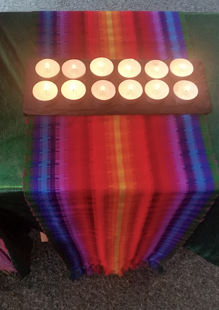 LGBT Unitarian candles