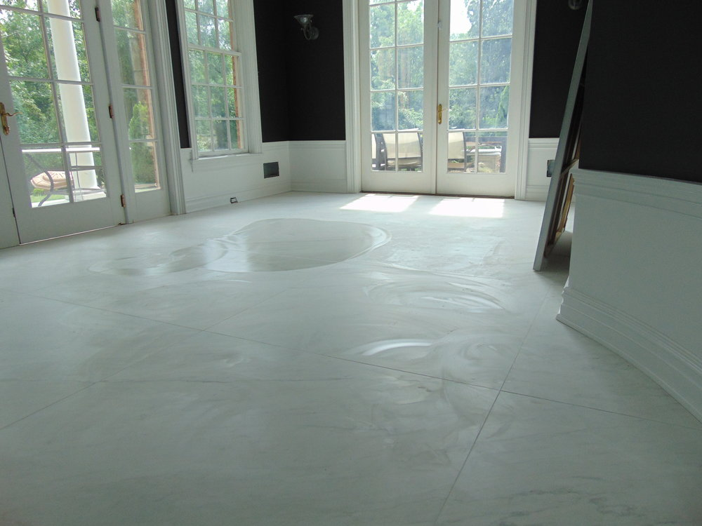Some of our high end tile work