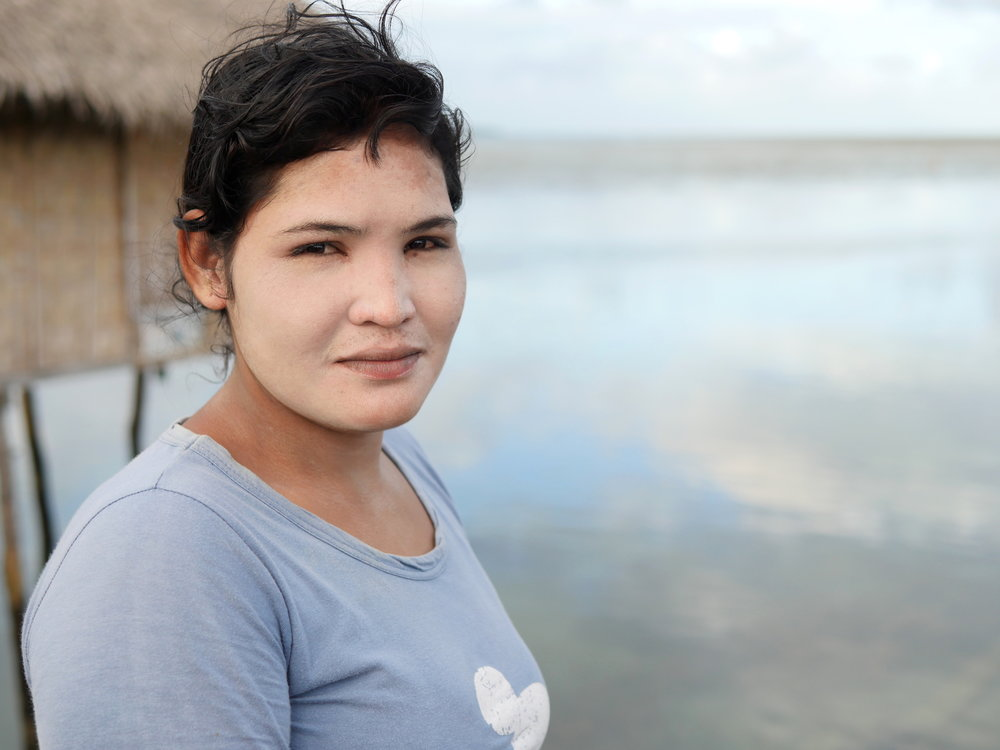 Anti, Bajau fisherwoman, Wakatobi, SE Sulawesi, Indonesia