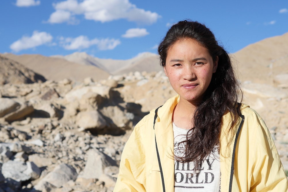 Tsetan Angmo, student, Ladakh, India