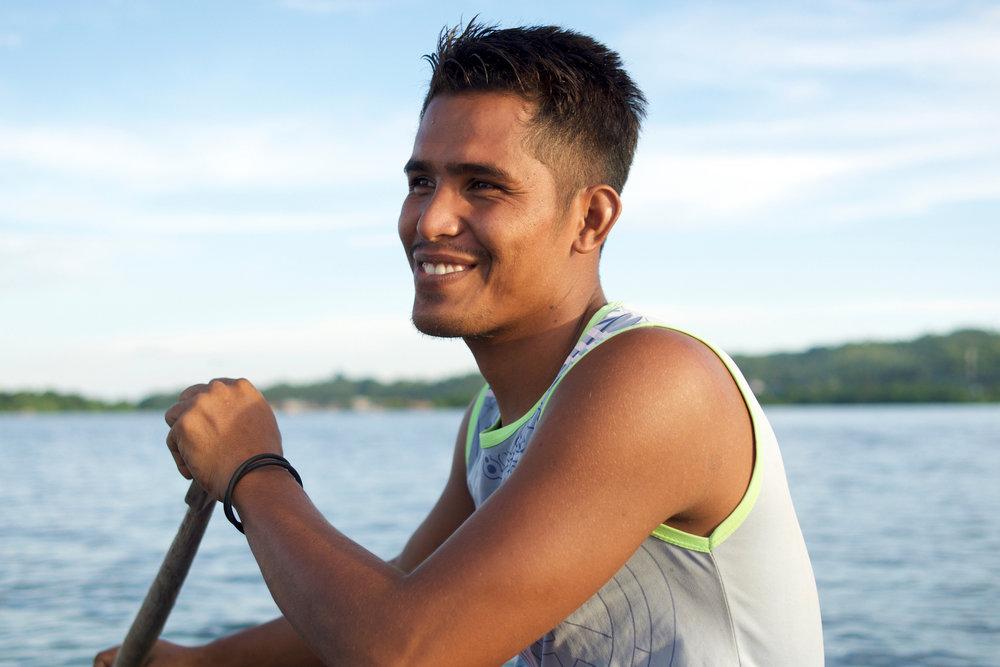 Ahdan, fisherman from Sama Bahari Village, Wakatobi