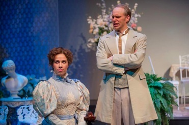 As Onkel Josef in  The Cousin from Nowhere,   with Lucia Cesaroni as Julia.    Toronto Operetta Theatre