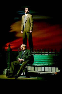 With Jamie Farr in  The Last Romance,  Theatre Aquarius