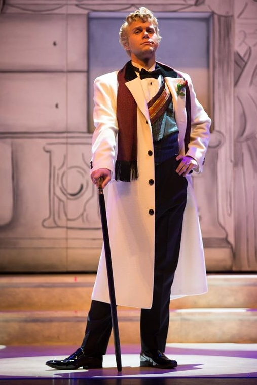 As Dandini in  La Cenerentola  with Edmonton Opera
