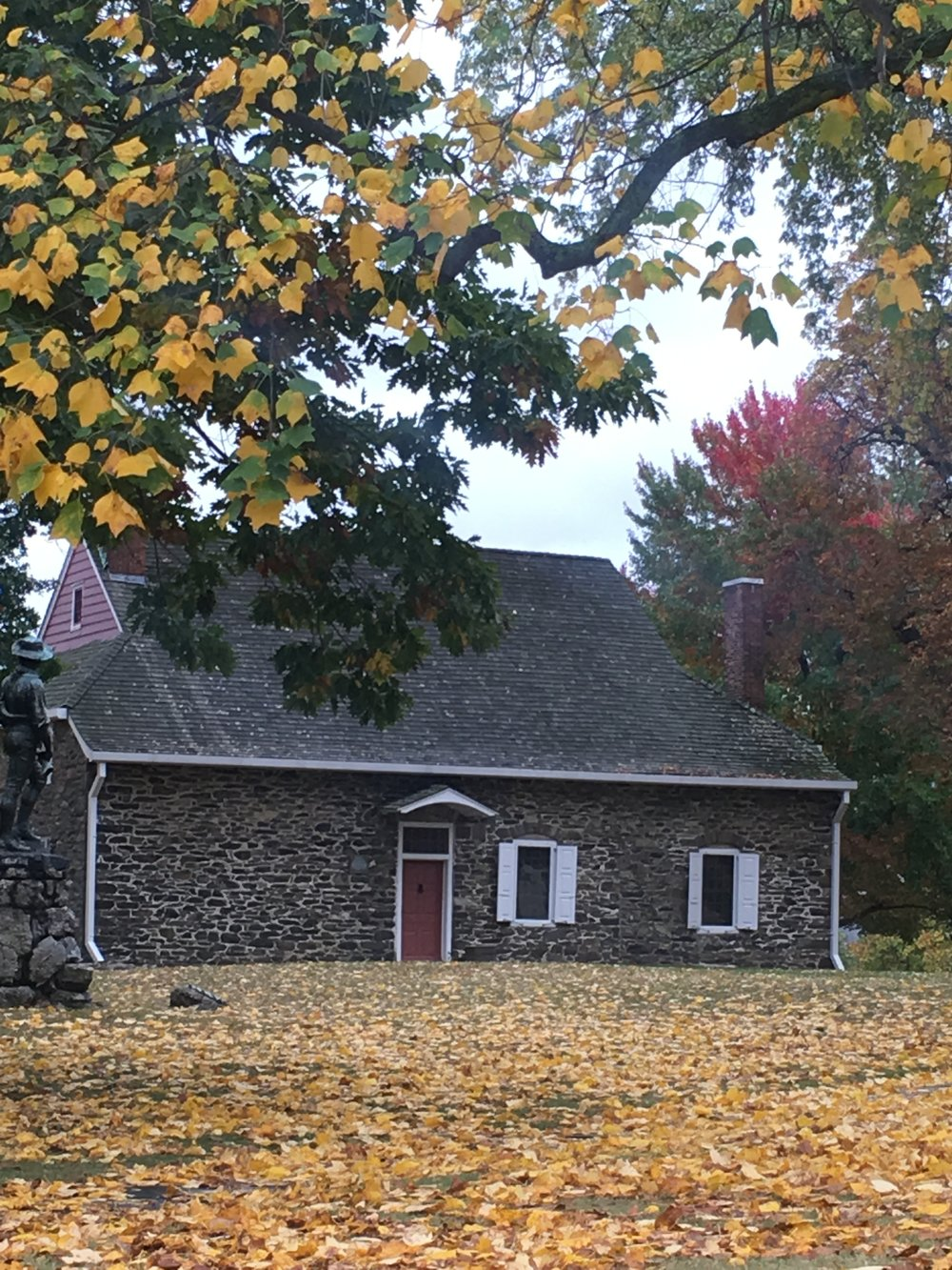 George and Martha lived here!
