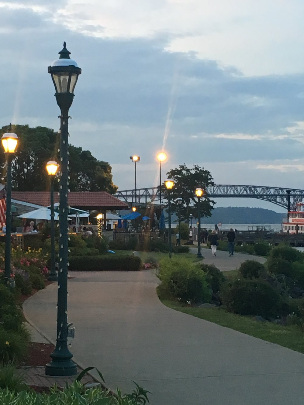 Riverfront and bridge to Beacon