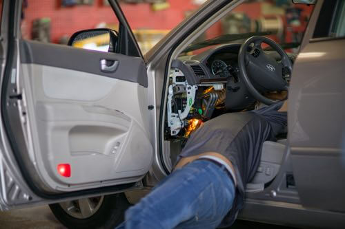 Sound quality of bluetooth car stereo system.