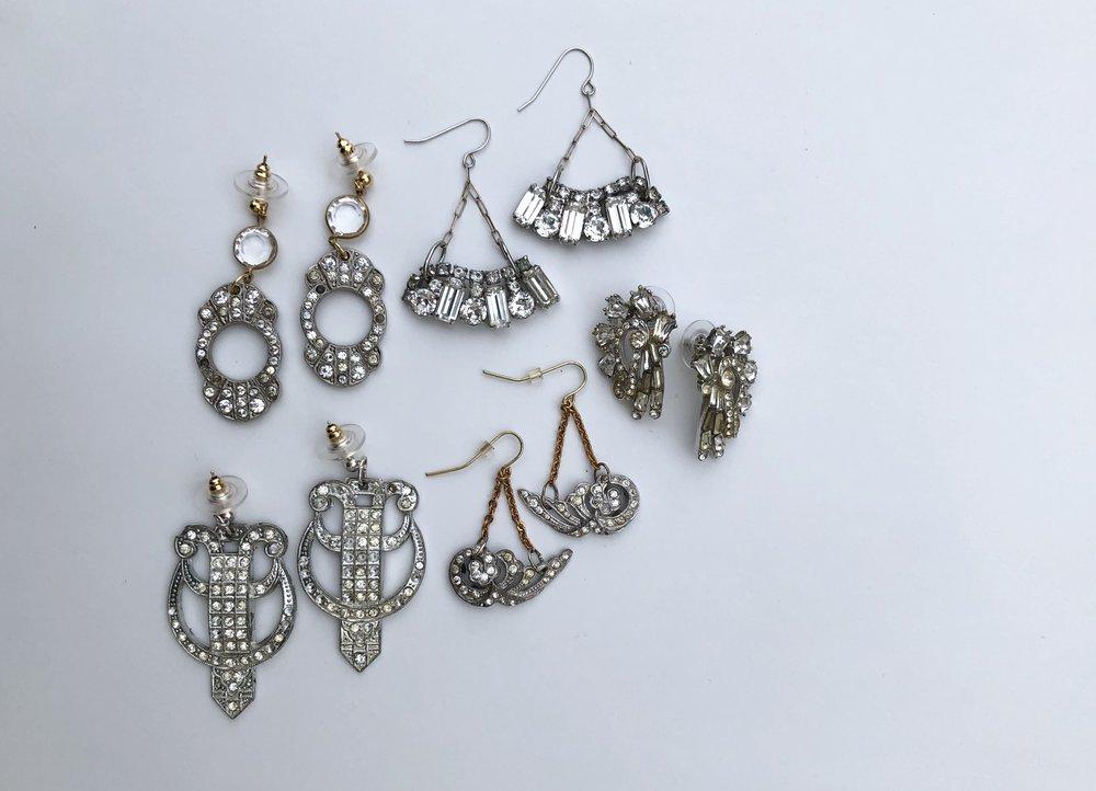 Custom Bridal Earrings