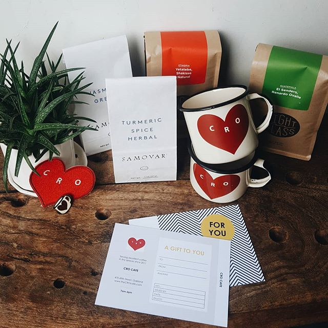 We have gift certificates and mugs and all kinds of cute trinkets for your favorite person on your holiday shopping list.