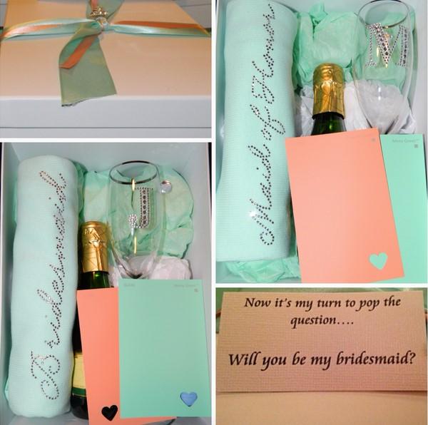 DIY Bridesmaid Proposal Boxes Elegant Affairs