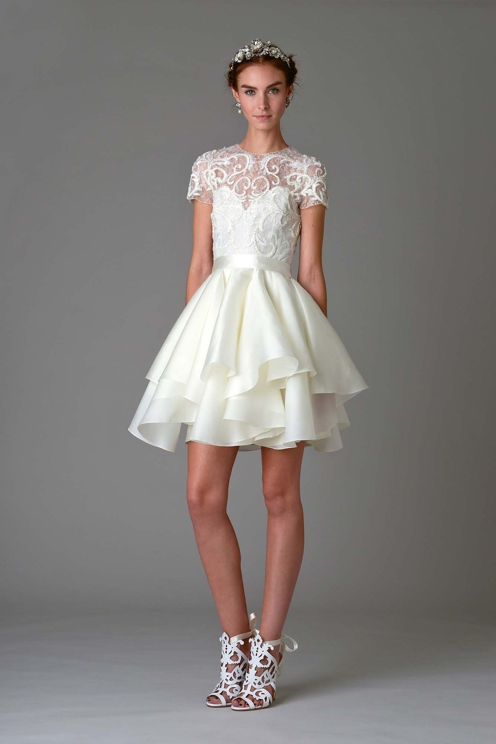 Marchesa Reception Dress