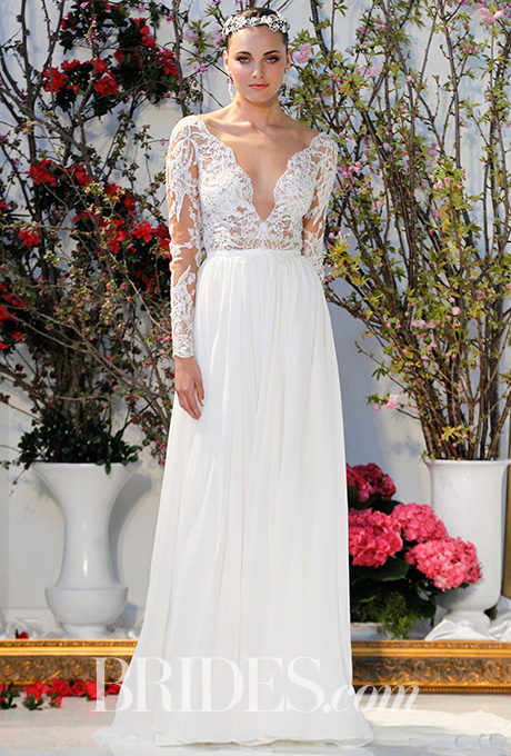 Wedding dress by  Anne Barge