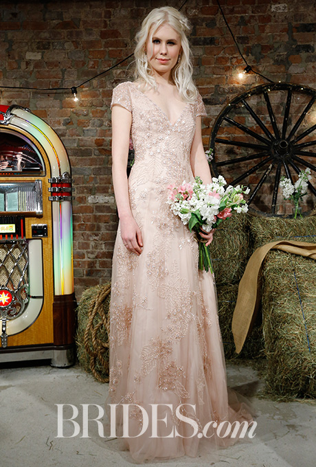 Wedding dress by  Jenny Packham