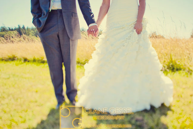 Camano Island Wedding Featured on Wedding Channel/Seattle Bride/Magazine/Joielle