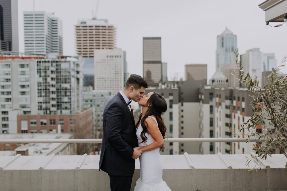 Hotel Sorrento Wedding Featured on Seattle Bride