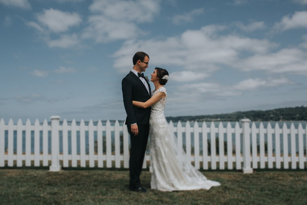Port Gamble Wedding Featured on Borrowed & Blue
