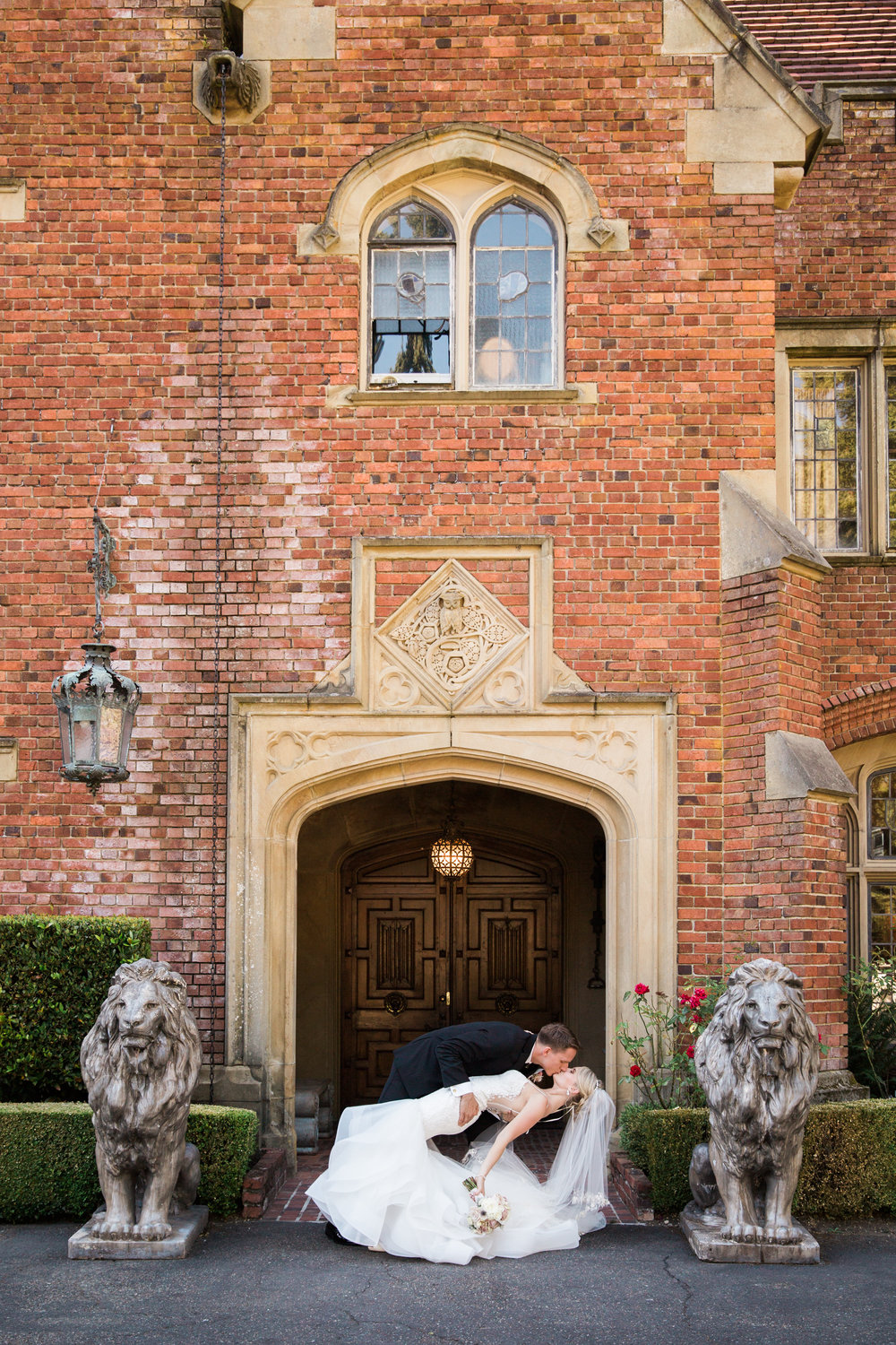 Thornewood Castle Wedding Featured on Pacific Coast Weddings
