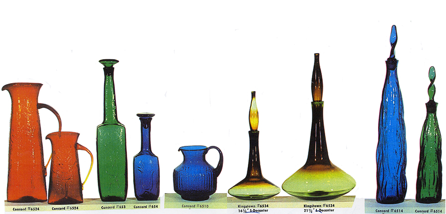 These are designs that I created at Bischoff in 1963. They were introduced in Bischoff's 1964 catalog.