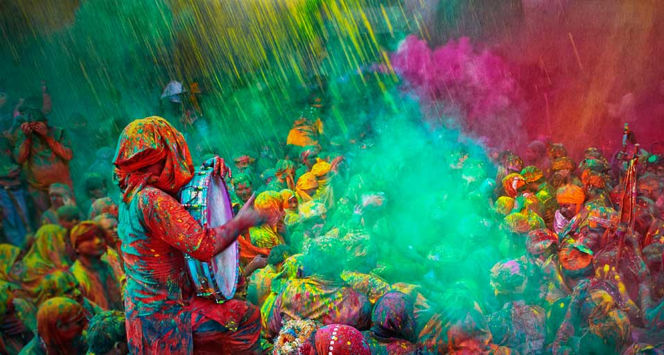 The incomparable Holi.