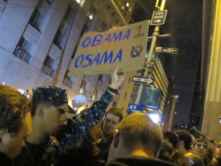 The night of Osama Bin Laden's death