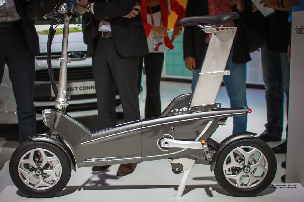 The Ford MoDe:Me concept bike