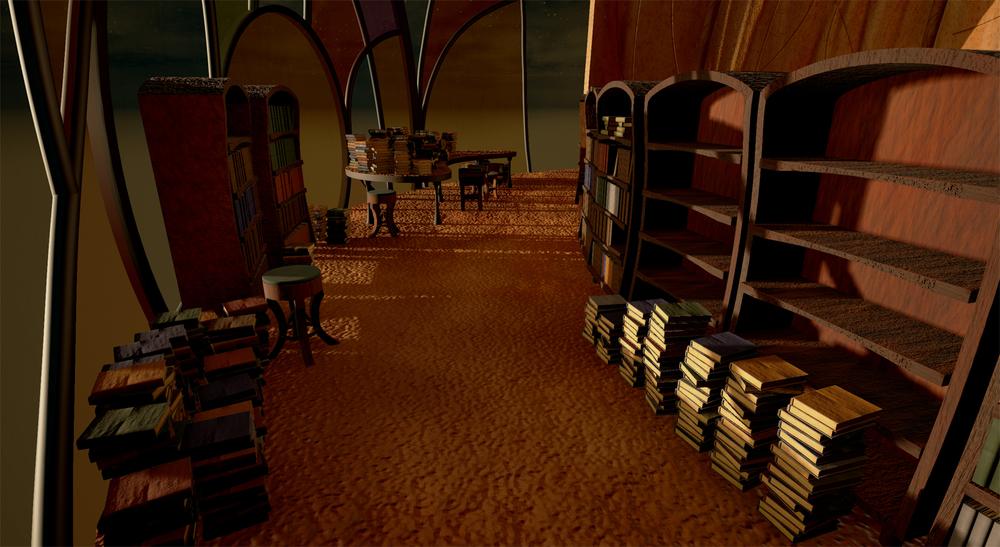 Fantasy Study/Library