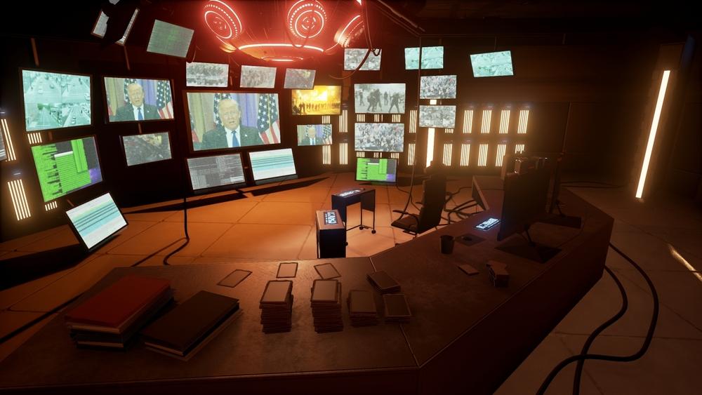 Hacker's Den Environment