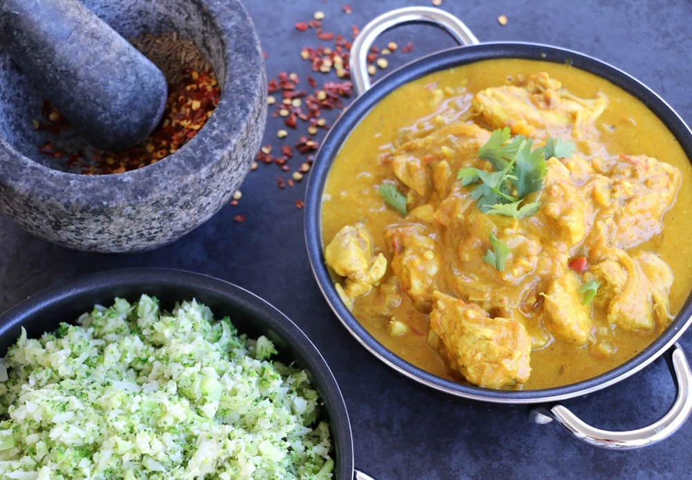 Easy butter chicken with cauli broccoli rice luke hines indian food is by far one of my favourite cuisines but some of my favourite dishes are packed full of processed vegetable oils not to mention sugar and forumfinder Gallery