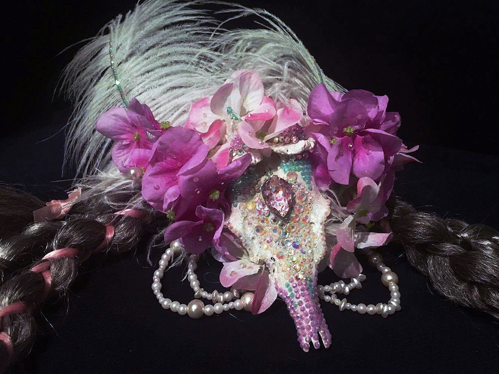 Voodoo Princess Headpiece