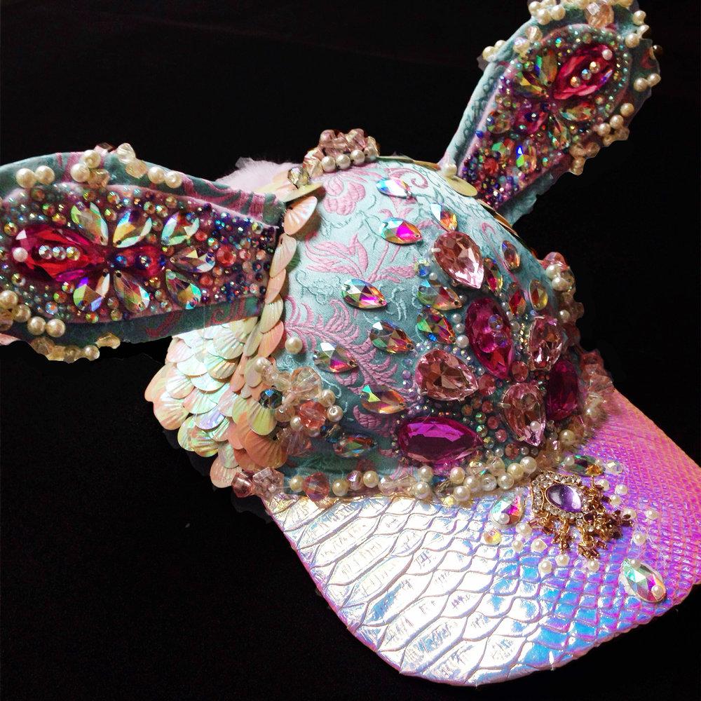 Crystal Dreams Bunny Cap